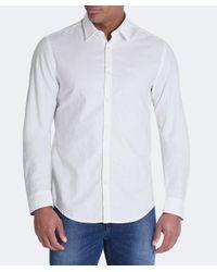 BOSS Green - White Regular Fit C-buster Shirt for Men - Lyst