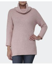 Barbour Pink Barlett Wool Jumper