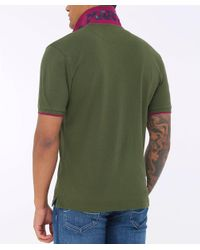 La Martina - Green Pique Miguel Polo Shirt for Men - Lyst