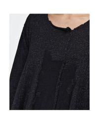 Rundholz Black Wool Lurex Tunic