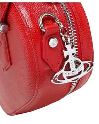 Vivienne Westwood - Red Johanna Heart Handbag - Lyst