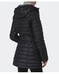 Barbour Black Baffle Quilted Down Jacket