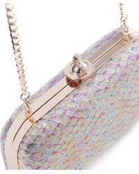 Vivienne Westwood Blue Flouender Clutch Bag