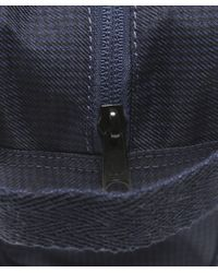 Fred Perry - Blue Checked Twill Wash Bag - Lyst