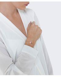 Vivienne Westwood Metallic Logo Charm Bracelet