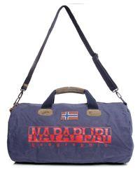 Napapijri Blue Bering Holdall for men