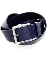 BOSS Orange | Blue Jeek Jeans Belt for Men | Lyst