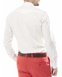 True Religion - White Mens Sean Western Shirt for Men - Lyst