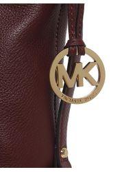 MICHAEL Michael Kors Purple Bedford Belted Shoulder Bag