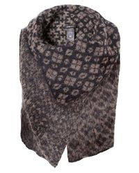 Crea Concept | Brown Knitted Aztec Vest | Lyst