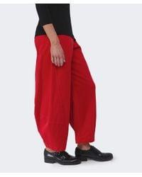 Oska - Red Lexi Corduroy Trousers - Lyst