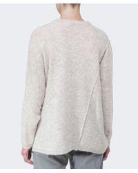 Oska Natural Melina Boucle Wool Sweater