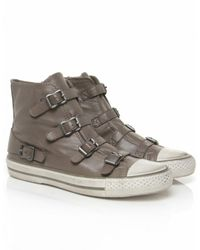 Ash - Gray Virgin High Top Trainers - Lyst