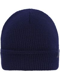 BOSS Orange | Blue Foxi Fisherman Beanie Hat for Men | Lyst