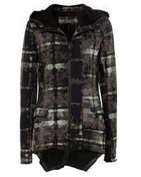 Rundholz | Green Printed Jersey Hood Jacket | Lyst