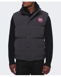 Canada Goose - Gray Freestyle Gilet for Men - Lyst