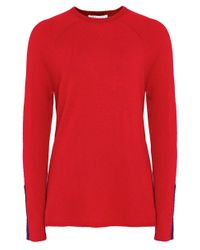 Duffy Red Side Loose Cashmere Jumper