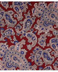 Tootal Multicolor Silk Paisley Scarf