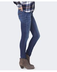Mancini Blue Jane Straight Leg Jeans