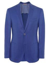Corneliani | Blue Extrafine Virgin Wool Jacket for Men | Lyst