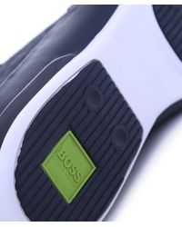 BOSS Green   Blue Space Select Trainers for Men   Lyst