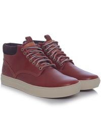 Timberland - Brown Adventure Cupsole Chukka Boots for Men - Lyst