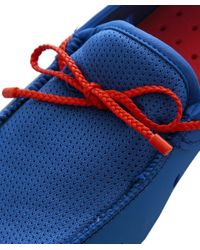 Swims - Blue Braided Lace Loafers for Men - Lyst