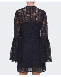 McQ Alexander McQueen | Black A Line Lace Dress | Lyst