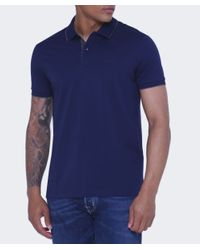 BOSS Black - Black Regular Fit Parlay 3 Polo Shirt for Men - Lyst