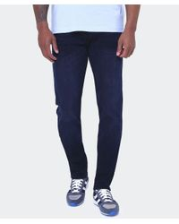 True Religion - Blue Skinny Fit Rocco Jeans - Lyst