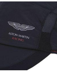 Hackett - Black Aston Martin Racing Mesh Cap for Men - Lyst