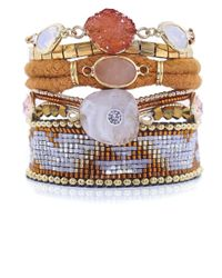 Hipanema | Multicolor Aurore Multi Strand Bracelet | Lyst