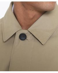 Gant   Natural Water Repellent Overcoat   Lyst