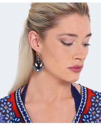 Butterfly - Metallic Beaded Shoreditch Chandelier Earrings - Lyst