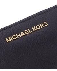 MICHAEL Michael Kors - Black Jet Set Smartphone Wallet - Lyst