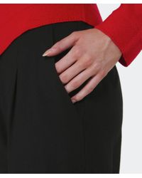 Oska - Black Linea Wool Trousers - Lyst
