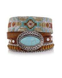 Hipanema Blue Texas Bracelet