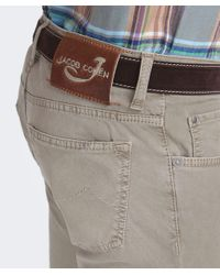 Jacob Cohen Natural Slim Fit Comfort Jeans for men