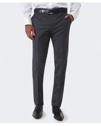 Corneliani Gray Wool Trousers for men