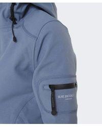 Ilse Jacobsen Blue Classic Softshell 3/4 Raincoat