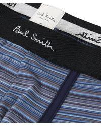 Paul Smith - Blue Striped Trunks for Men - Lyst