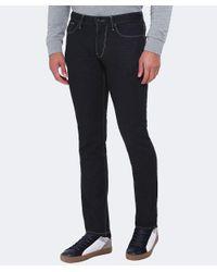 Armani Jeans Black Slim Fit J06 Jeans for men