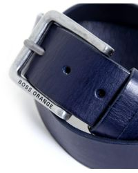 BOSS - Blue Jeek Jeans Belt for Men - Lyst