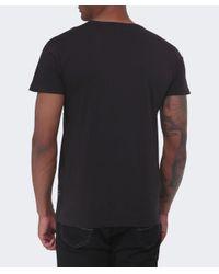 Replay Black Chest Pocket T-shirt for men
