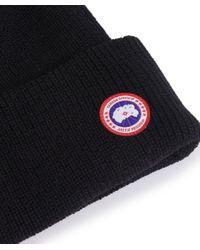 Canada Goose | Black Merino Watch Cap for Men | Lyst