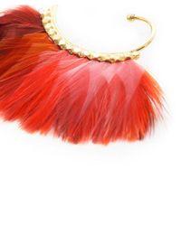 Gas Bijoux - Multicolor Buzios Feather Earrings - Lyst
