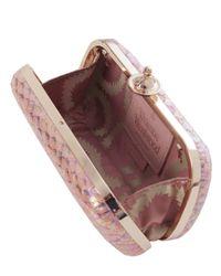 Vivienne Westwood Pink Flouender Clutch Bag