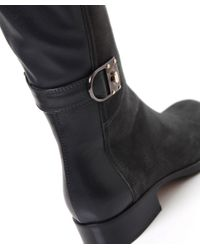 Le Pepe Gray Over Knee Suede Boots