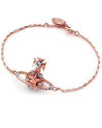 Vivienne Westwood Pink Astrid Bracelet