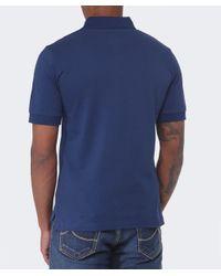 Vivienne Westwood Blue Orb Polo Shirt for men